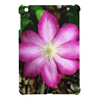 Pink Clematis Flower iPad Mini Case