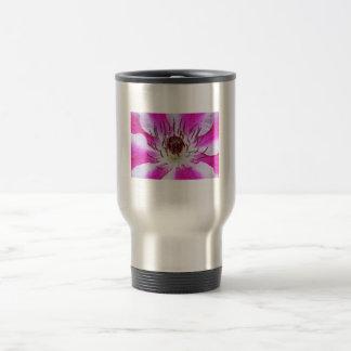 Pink Clematis Flower Mugs
