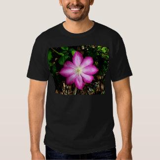Pink Clematis Flower Tshirts