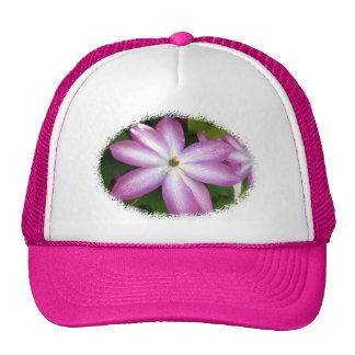 Pink Clematis Hat
