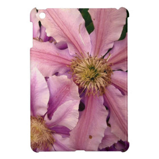 Pink Clematis iPad Mini Covers