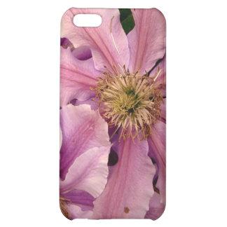 Pink Clematis iPhone 4 Case