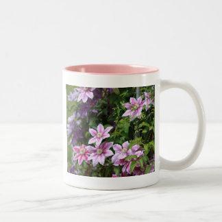 Pink Clematis Mugs