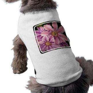 Pink Clematis Pet Shirt