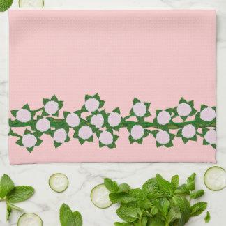 Pink Climber Kitchen/Tea Towel