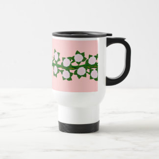 Pink Climber Travel Mug