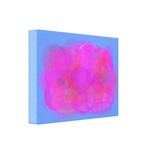Pink Cloud Canvas Print
