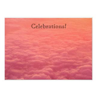 Pink Cloud invitations