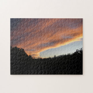 Pink Clouds Jigsaw Puzzle