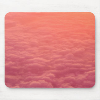 Pink Clouds Mouse Mat
