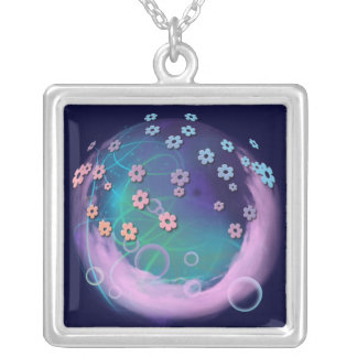 Pink Clouds Personalized Necklace