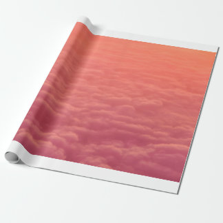 Pink Clouds Wrapping Paper
