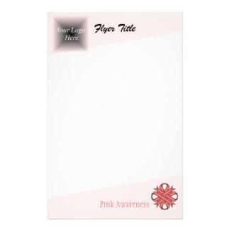 Pink Clover Ribbon 14 Cm X 21.5 Cm Flyer