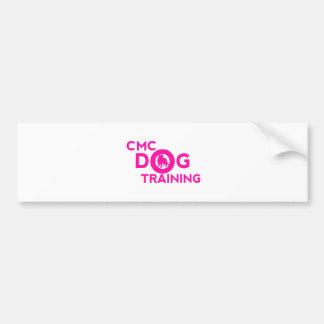 Pink CMC Logo Bumper Sticker
