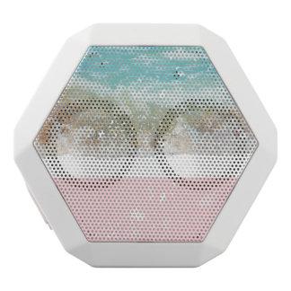 Pink Colorblock Splatters Blue Wave