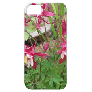 Pink Columbines Barely There iPhone 5 Case