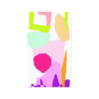 Pink Column Watcher Daytime the Sun Canvas Print