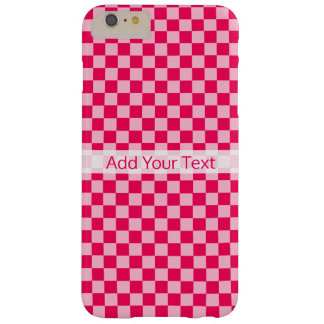 Pink Combination Classic Checkerboard by STaylor Barely There iPhone 6 Plus Case