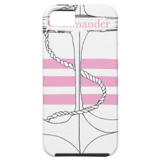 pink commander, tony fernandes iPhone 5 case