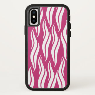 Pink Cool Abstract Pattern iPhone X Case
