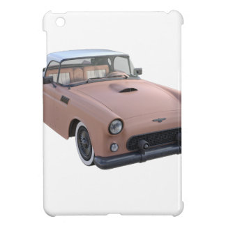 Pink Coral 50's Sport Car Cover For The iPad Mini