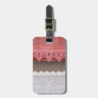 Pink Coral House Luggage Tag