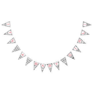 Pink Coral Native Abstract Aztec Patten Baby Girl Bunting