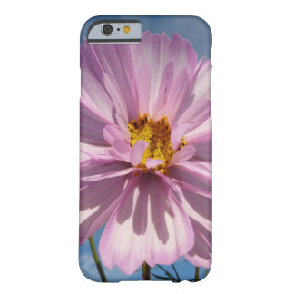 Pink Cosmos flower against blue sky Barely There iPhone 6 Case