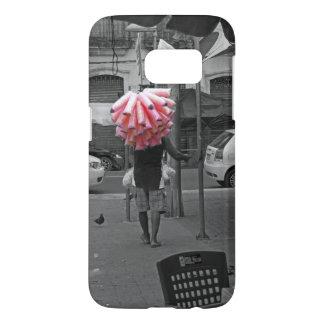 Pink cotton candy man