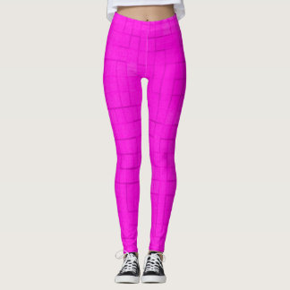 Pink Cotton Candy Yoga Fitness Leggings
