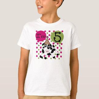 Pink Cow 5th Birthday T-Shirt