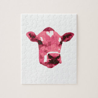 Pink cow puzzle