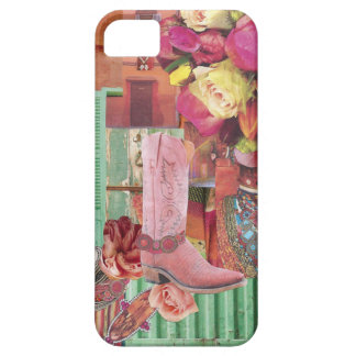 Pink Cowboy Boot Case For The iPhone 5