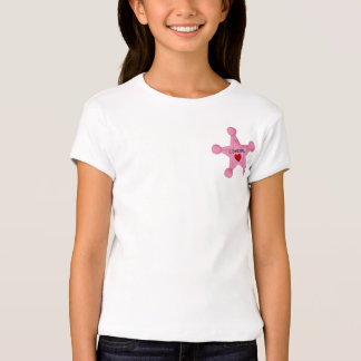 Pink Cowgirl Badge T-Shirt