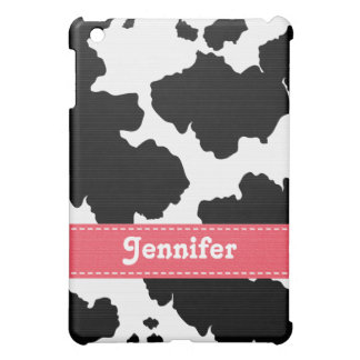 Pink Cowhide  iPad Mini Cover