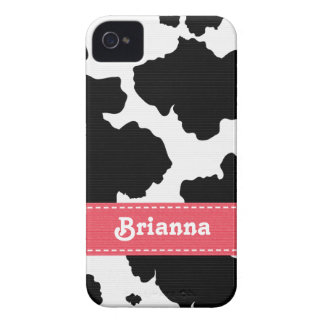 Pink Cowhide iPhone 4 4s Case-Mate Cover