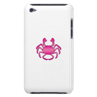 Pink crab barely there iPod cover