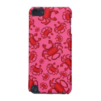 Pink crab pattern iPod touch 5G covers
