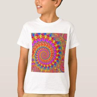 Pink Crazy Fractal T-Shirt