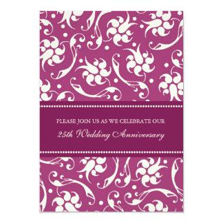 Pink Cream 25th Anniversary Party Invitation