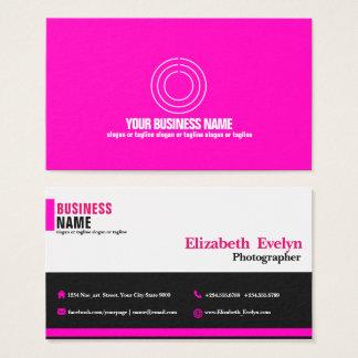 Pink Creative 001 Business Card