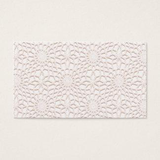 PInk Crochet Business Card