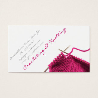 Crocheting Business : 274+ Crochet Business Cards and Crochet Business Card Templates ...