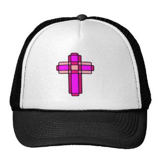 Pink Cross Cap