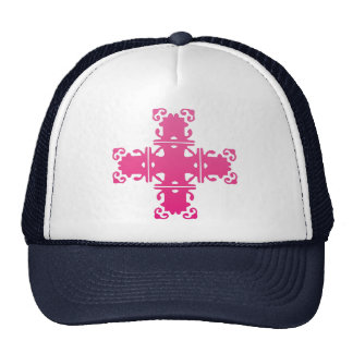 pink cross Hat