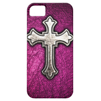 Pink Cross iPhone 5 Covers