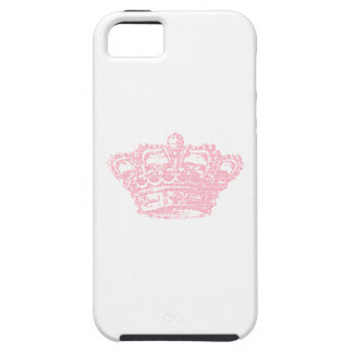 Pink Crown iPhone 5 Cover