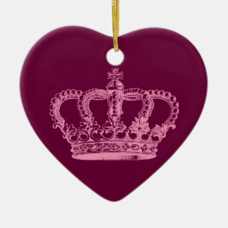 Pink Crown Ornament