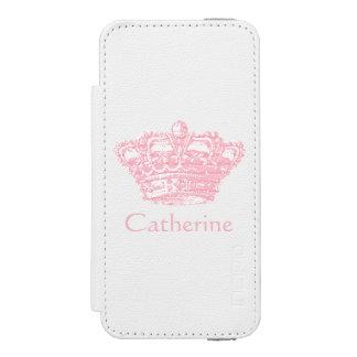 Pink Crown - Personalize It Incipio Watson™ iPhone 5 Wallet Case