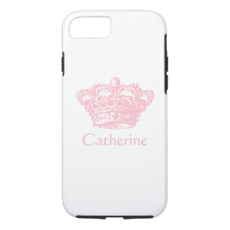 Pink Crown - Personalize It iPhone 7 Case
